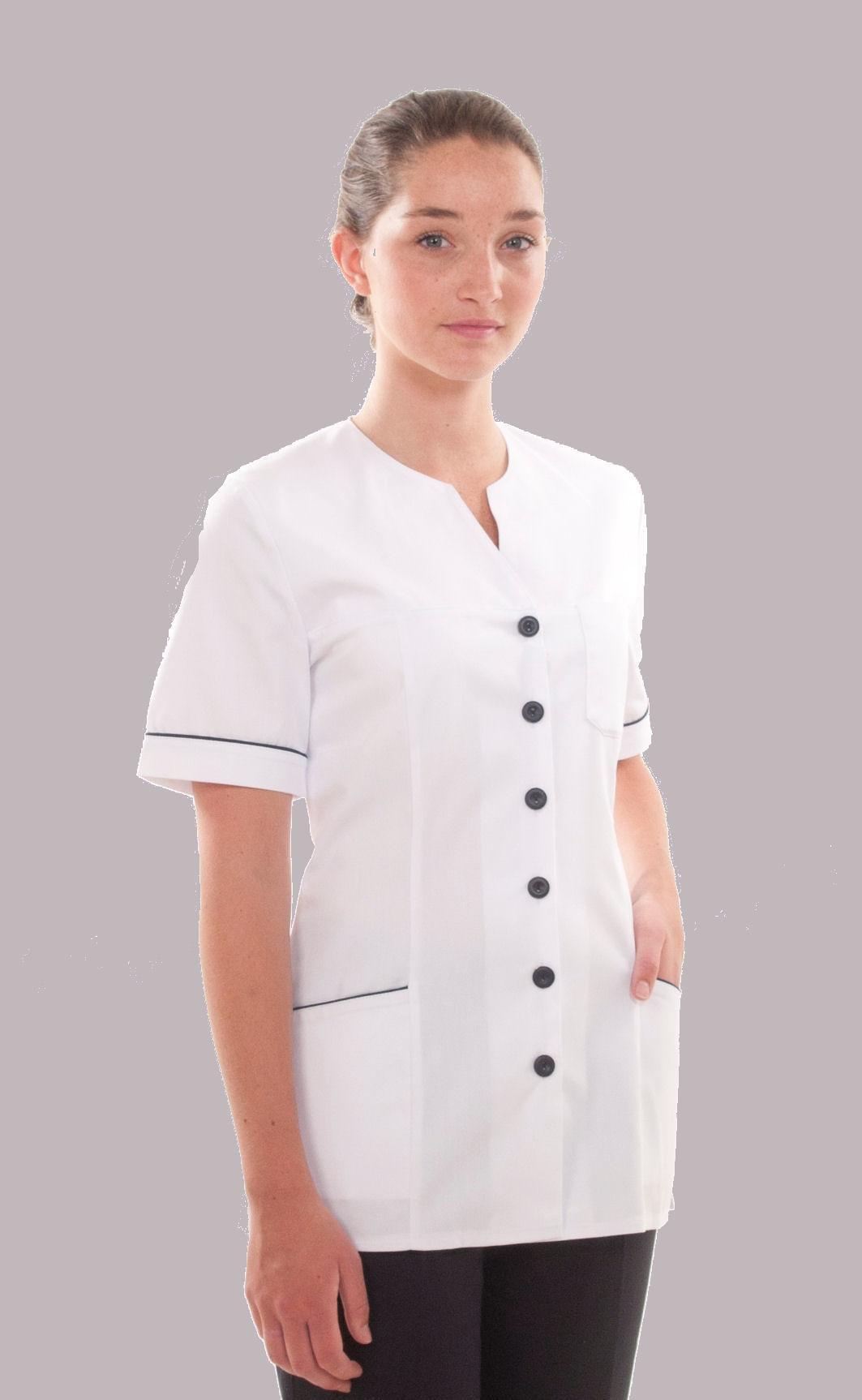 883572e63b0 Nurses uniform high neckline (NT100) - Coppingers - Uniform Specialists