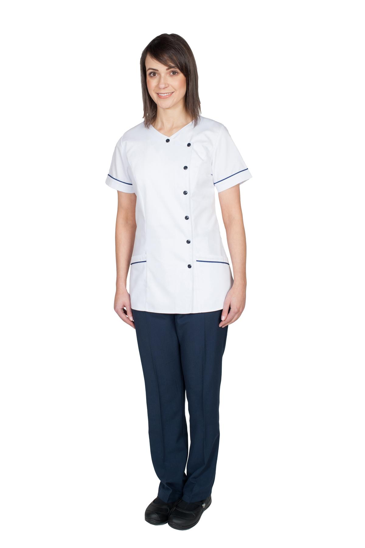 db7d34c92e3 Amelia - Side fastening tunic (NT220) - Coppingers - Uniform Specialists