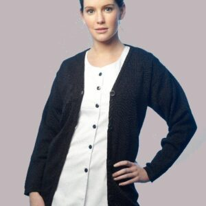 6a13abdc079 Ladies wool Acrylic Cardigan (LCA150h)