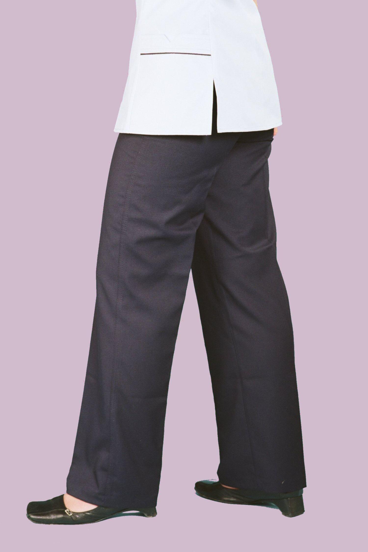 c3beba2d907 straight leg nurses trousers with flat front (SLT200) - Coppingers ...