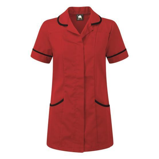 f0bb27046d1 Florence Tunic Red and Black (8600REDBLACK) - Coppingers - Uniform ...